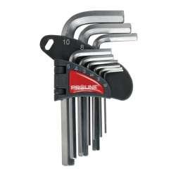 klucze sześciokątne hex crv 9el. 1.5-10mm proline