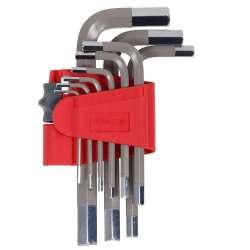 klucze imbusowe kpl.9szt 1.5-10mm s2 proline