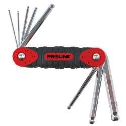 klucze imbusowe hex z kulką crv 8el. 1.5-8mm proline 48378