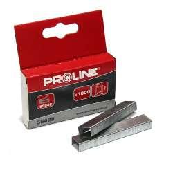 Zszywki hartowane R 12,7mm prostokątne L:6-8mm Proline 55426