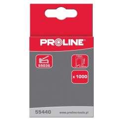 Zszywki kablowe hartowane L 7,6mm półokrągłe L:10-12mm Proline 55440