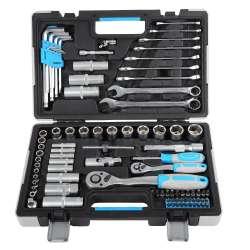 Zestaw kluczy nasadowych 91 elementów 12  14cala  Mega 58091