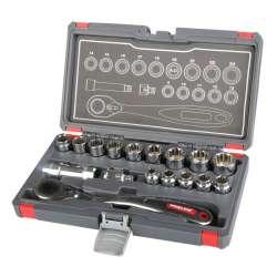 Klucze nasadowe przelotowe Spline 17 elementów Proline 58717