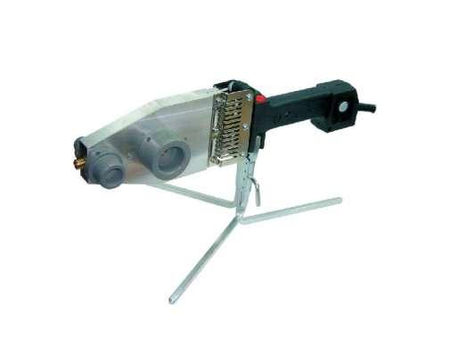 Zgrzewarka do rur PCW PJ-2 1300W 230V ze statywem do 75mm 60016