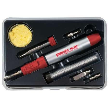 Lutownica gazowa modelarska zestaw 7 elementów Proline 60037
