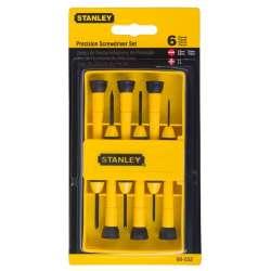 Wkrętaki zegarmistrzowskie zestaw 6 elementów Stanley 660520