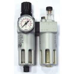 GAV Reduktor ciśnieniowy z filtrem i naolejaczem FRL-200 38 cala 66220