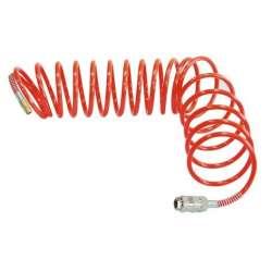 wąż pneumatyczny spiralny 15m 6/8mm 120psi 8 bar mega 66252