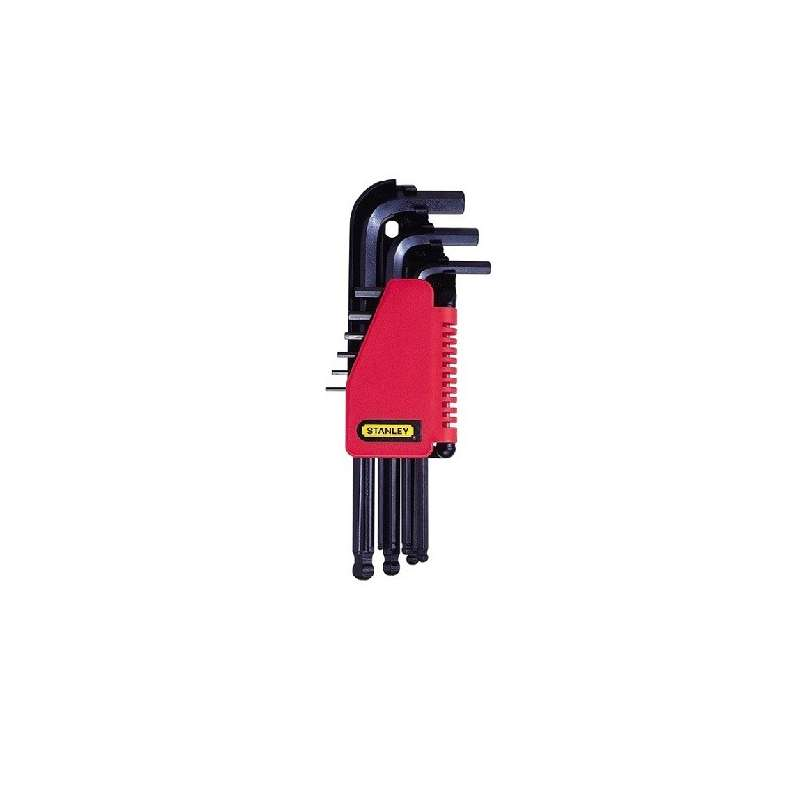 zestaw kluczy hex  9el 1.5-10mm końcówki kuliste