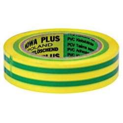 taśma izolacyjna pcw 19mmx20m żół-ziel 1000v profix 13102l