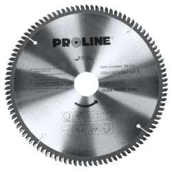 Piła tarczowa z węglikiem do metali nieżelaznych 200-250mm Proline 84720