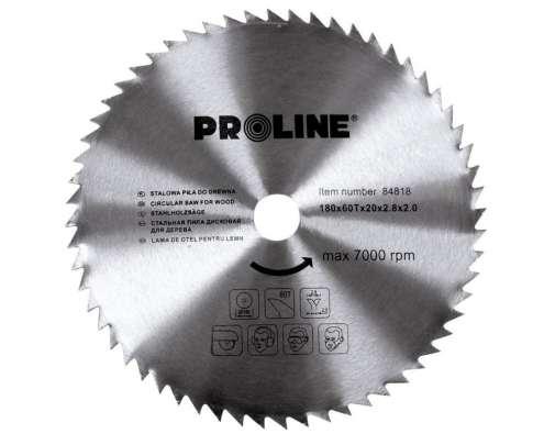 Piły tarczowe do drewna 180-350mm Proline 84818