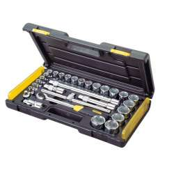 Zestaw kluczy nasadowych 1/2 cala MicroTough 29 elementów Stanley 855842