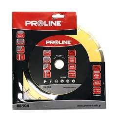 Tarcza diamentowa segmentowa (materiały budowlane) 230x2,8x7,5x22,23 Proline 86104