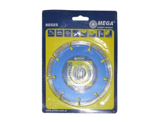 Tarcza diamentowa segmentowa 125x2,0x22mm Mega 86525
