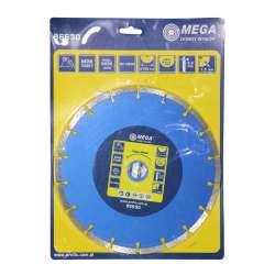 Tarcza diamentowa segmentowa 180x2,4x22mm Mega 86580