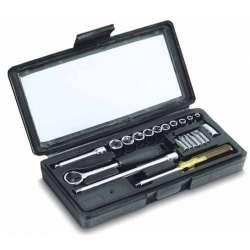 klucze nasadowe 1/4cala 4-13mm 21el. stanley 87-025
