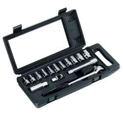 klucze nasadowe 1/2 zestaw 15el. 12pkt stanley 87-065