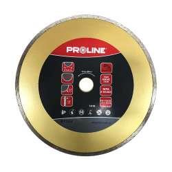 Tarcza diamentowa pełna (materiały budowlane) 230x2,8x22mm Proline 87104