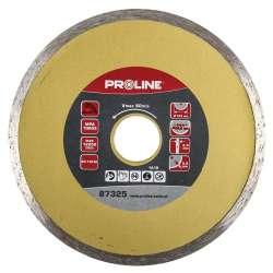 tarcza diamentowa pełna 180mm otwór 25.4mm proline