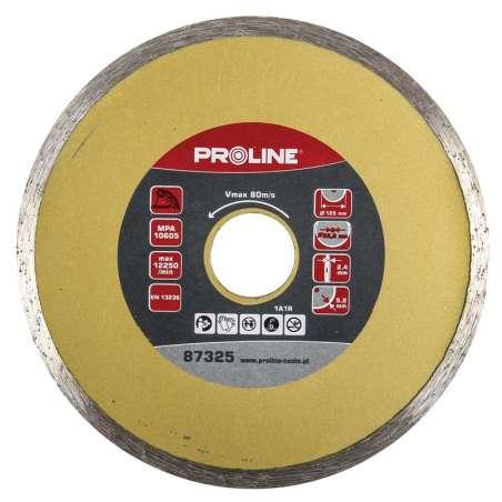 Tarcza diamentowa pełna 180mm otwór 25,4mm Proline 87381