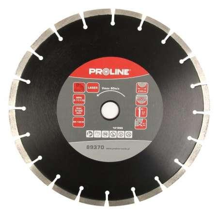 Tarcze diamentowe segmentowe beton zbrojony 300-350mm otw:25mm Proline 8937