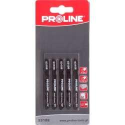 Brzeszczoty do wyrzynarki do plexi 50 x 20 mm typ T (A) Proline 93108