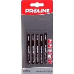 Brzeszczoty do wyrzynarki do plexi 50 x 20 mm typ U (B) Proline 93408