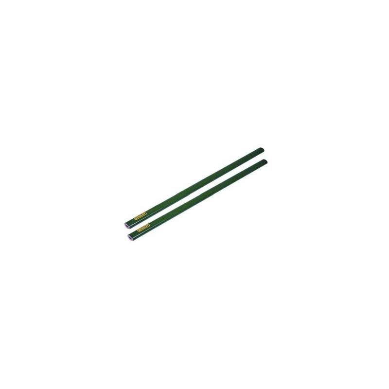 ołówek murarski twardy 176mm 4h - 2szt. stanley 93-932