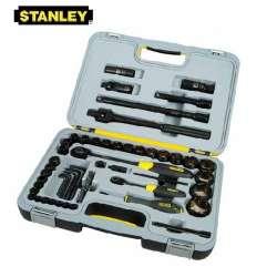 zestaw kluczy nasadowych 1/4 i 1/2  60el. fatmax stanley 94-663