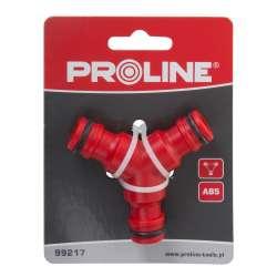 Łącznik trójnik(do szybkozłączek) karta Proline 99217