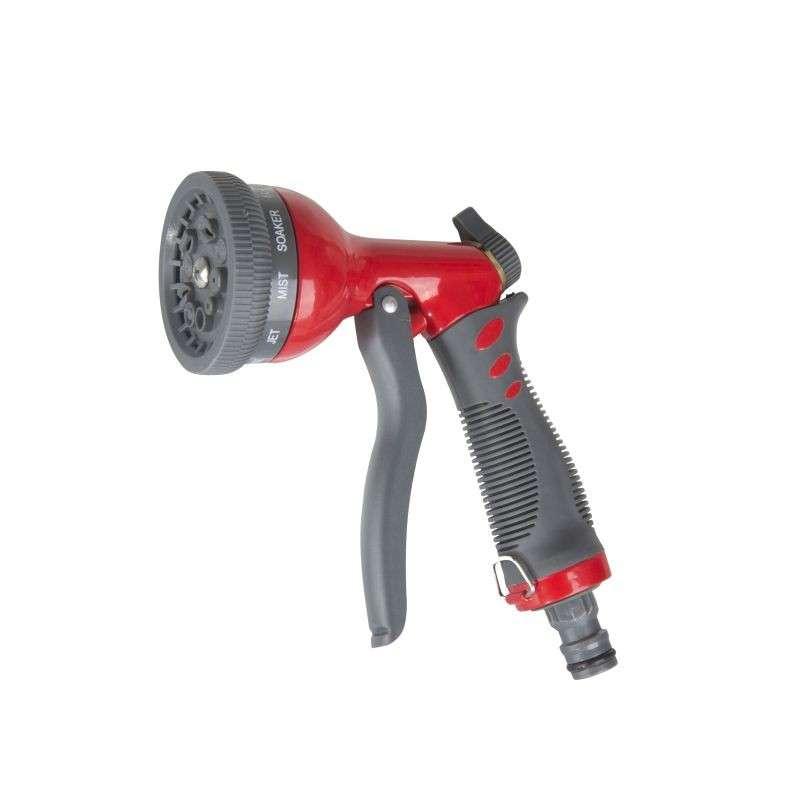 Zraszacz pistoletowy metalowy z 10-cio stopniową regulacją strumienia wody Proline 99311