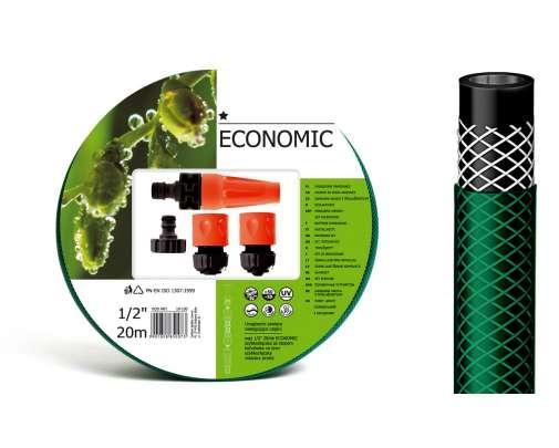 zestaw zraszający do podlewania z wężem 1/2cala rolka 20m cellfast economic