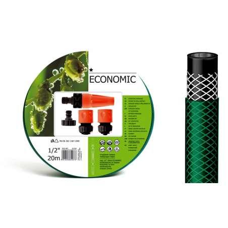 Zestaw zraszający do podlewania z wężem 12cala rolka 20m CellFast Economic CF10100