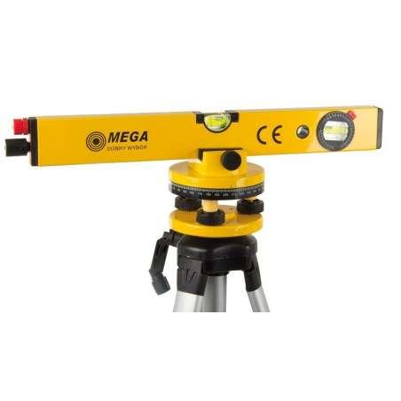 Poziomnica laserowa 40 cm + statyw 120cm Mega 15145