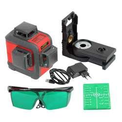 poziomnica laserowa pozioma 2x pionowa 360â° proline 15169