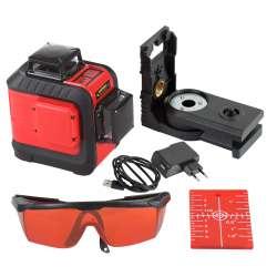 Poziomnica laserowa pion i poziom 360° PROLINE 15168