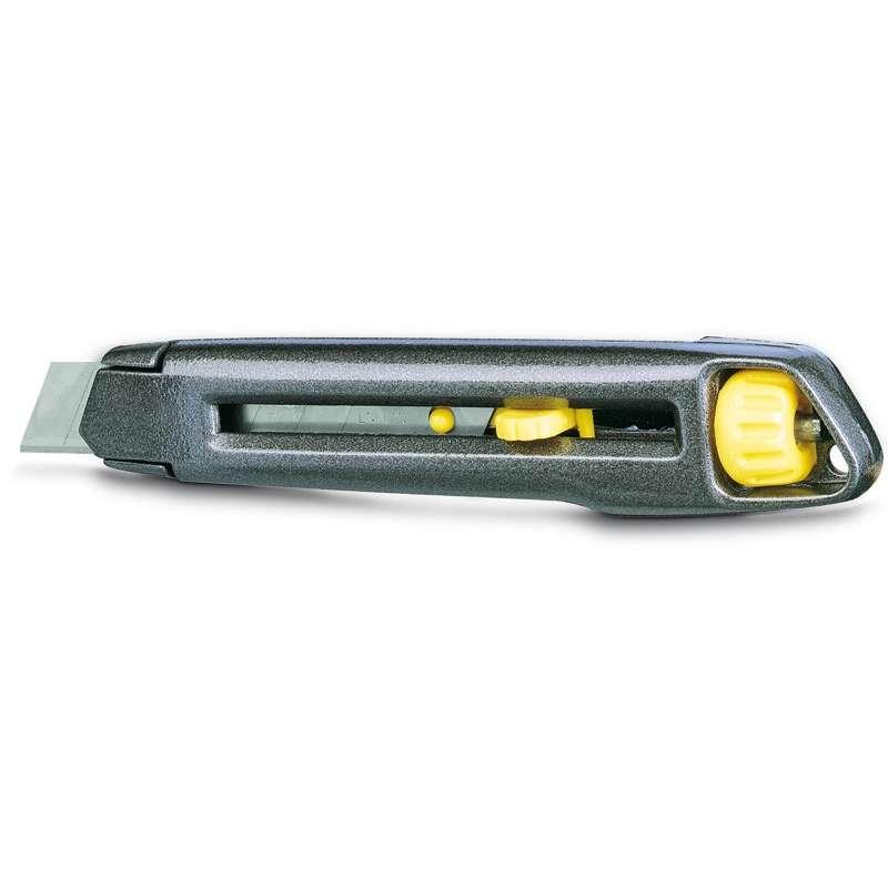nóż metalowy interlock ostrze łamane 18mm stanley 10-018