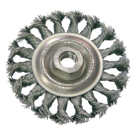 Szczotka tarczowa z drutu skręcanego M14 100mm Proline 32530
