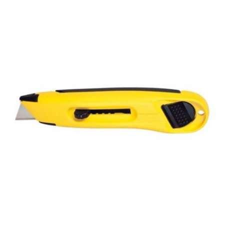 Nóż lekki ostrze trapezowe chowane 150mm Stanley 100880