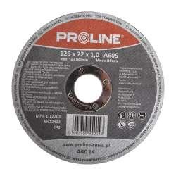 Tarcza do cięcia stali kwasoodpornej 125x1,0x22mm Proline  44014
