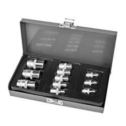 klucze nasadowe torx e4-e20 zestaw 11el. proline 18711