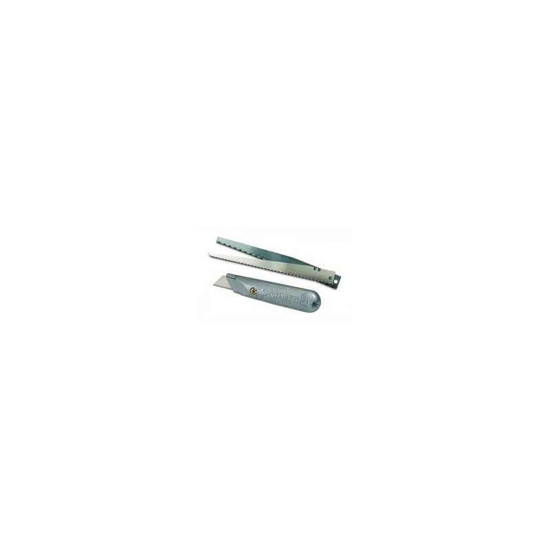 nóż metalowy 199 ostrze trapezowe 3szt + piła 2szt stanley 10-129