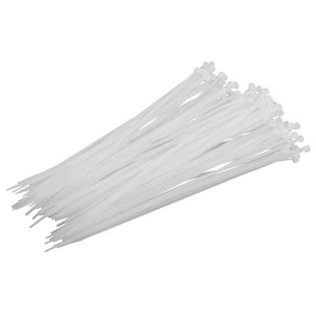 Opaski zaciskowe nylonowe białe i czarne opk:100szt Proline 59110B