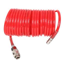 Wąż pneumatyczny spiralny PU 10m 5x8mm 10bar Proline 66351