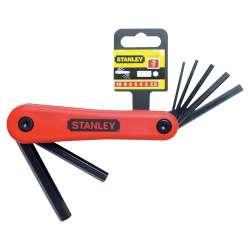 Zestaw klucz sześciokątnych - 7 elementów 25-10mm Stanley 692614