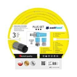 Zestaw zraszający do podlewania z wężem 12 cala rolka 25m CellFast PLUS CF10290