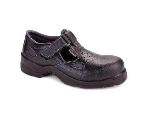 Sandały robocze męskie skórzane S1 SRC Demar 7036NEO C