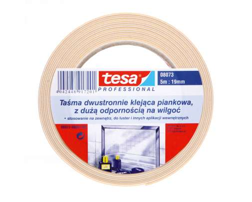 Piankowa taśma dwustronna 5m:19mm Tesa H0807301