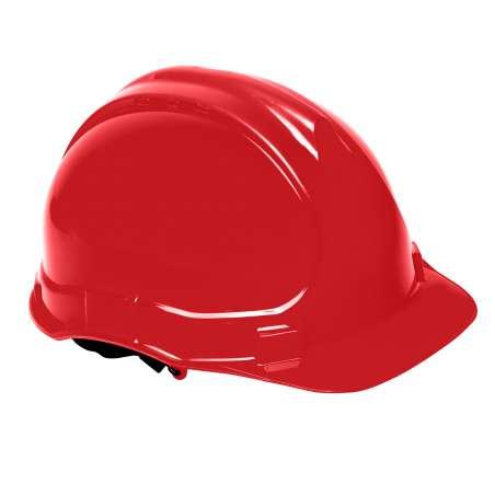 Hełm przemysłowy ochronny czerwony Lahti Pro L1040202